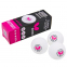 Набор мячей для настольного тенниса 3 штуки BUTTERFLY 95710270 3star (пластик, d-40мм, белый) 0