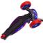 Самокат с наклоном руля MICMAX MG-09D цвета в ассортименте (3-х кол, PU светящ. d-12см, h-см, р-р платф. 55x72см, макс.вес пользователя 50кг) 16