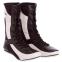 Боксерки кожаные RIV MA-3310 размер 36-45 черный-белый 4