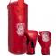 Боксерский набор детский (перчатки+мешок) LEV LV-4686 (PVC, мешок h-40см, d-15см, цвета в ассортименте) 8