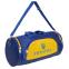 Сумка для спортзала Бочонок Украина GA-016-U (полиэстер, р-р 55х28х28см, синий-желтый) 2