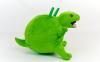 Мяч попрыгун с рожками Динозавр BA-3008 (резина, d-45см, 400г, PL чехол) 1