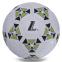 Мяч резиновый Футбольный №4 S013 (резина, вес-370-400г, белый-зеленый) 0