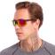 Очки спортивные солнцезащитные 799 (пластик, акрил, цвета в ассортименте) 6