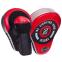 Лапа Изогнутая для бокса и единоборств BO-2885 2шт цвета в ассортименте 12