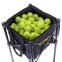 Корзина для мячиков ODEAR BT-0464 (металл, полиэстер, р-р 35х35х90см, вместительность 160шт мячей, черный) 3