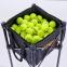 Корзина для мячиков ODEAR BT-0464 (металл, полиэстер, р-р 35х35х90см, вместительность 160шт мячей, черный) 9