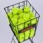 Корзина для мячиков ODEAR BT-0465 (металл, р-р 70х22х24см, черный) 8