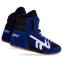 Борцовки замшевые Zelart OB-3957 (р-р 30-45) (верх-замша, низ-нескользящая резина, синий-черный) 4