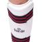 Защита голени с футами для единоборств PU DADO BO-5074-W (р-р XS-XL, белый-черный-красный) 1