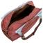 Сумка для фитнеса и йоги Yoga bag KINDFOLK FI-8366-3 (размер 19смх50х33см, полиэстер, хлопок, серый-синий) 6