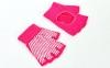 Перчатки для йоги и танцев без пальцев FI-8367 (хлопок, спандекс, эластан, цвета в ассортименте) 12
