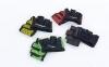 Накладки атлетические (грипад) для поднятия веса WorkOut FI-8038 размер S-XL цвета в ассортименте 4