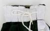 Штаны для кикбоксинга детские MATSA KICKBOXING MA-6731 (полиэстер, 6-14лет, рост 128-170см, черный-белая полоса) 6