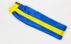 Штаны для кикбоксинга детские MATSA KICKBOXING MA-6732 (полиэстер, 6-14 лет, рост 122-152см, синий-желтая полоса) 9