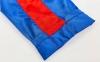 Штаны для кикбоксинга детские MATSA KICKBOXING MA-6733 (полиэстер, 6-14лет, рост 122-152см, синий-красная полоса) 6