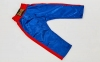 Штаны для кикбоксинга детские MATSA KICKBOXING MA-6733 (полиэстер, 6-14лет, рост 122-152см, синий-красная полоса) 7