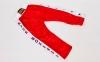 Штаны для кикбоксинга детские MATSA KICKBOXING MA-6735 (полиэстер, 6-14лет, рост 122-152см, красный-белая полоса со звездами) 6