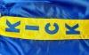 Штаны для кикбоксинга детские MATSA KICKBOXING MA-6736 (полиэстер, 6-14лет, рост 122-152см, синий-желтая полоса со звездами) 7