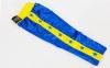 Штаны для кикбоксинга детские MATSA KICKBOXING MA-6736 (полиэстер, 6-14лет, рост 122-152см, синий-желтая полоса со звездами) 13
