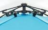 Палатка открытая 3-х местная SY-N001 (р-р 2,25х1,3х1,3м, PL, 210T PU 3000mm, цвета в ассортименте) 14