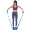 Лента эластичная для фитнеса и йоги CUBE (р-р 1,5мx15смx0,35мм) FRB-001-1_5 (латекс, цвета в ассортименте) 8