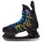 Коньки хоккейные PVC Z-0886 (р-р 37-46, лезвие-сталь, черный-желтый-синий) 2