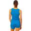 Форма для легкой атлетики женская LD-8302-1  (полиэстер, р-р L-2XL(44-50), синий-желтый-зеленый) 0