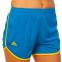 Форма для легкой атлетики женская LD-8302-1  (полиэстер, р-р L-2XL(44-50), синий-желтый-зеленый) 2