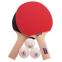 Набор для настольного тенниса 2 ракетки, 3 мяча, сетка с крепл.,чехлом GIANT DRAGON METEOR P40+1* MT-6507 0
