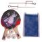 Набор для настольного тенниса 2 ракетки, 3 мяча, сетка с крепл.,чехлом GIANT DRAGON METEOR P40+1* MT-6507 10