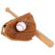 Ловушка для бейсбола C-1877 (PVC, р-р 11,5, черный, коричневый) 5
