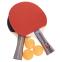 Набор для настольного тенниса 2 ракетки, 3 мяча Boli prince MT-9007 (древесина, резина, уп. блистер) 0