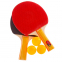 Набор для настольного тенниса 2 ракетки, 3 мяча Macical MT-666-1 (древесина, резина, пластик) 0