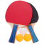 Набор для настольного тенниса 2 ракетки, 3 мяча с чехлом Macical MT-809 (древесина, резина, пластик) 0