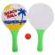 Набор ракетки и мячик для пляжного тенниса IG-5506 (дерево, PVC, размер 33x19см, 2 ракетки + 1 мячик) 3