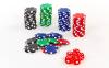 Набор для покера в алюминиевом кейсе IG-4392-100 на 100 фишек без номинала (2кол.карт, 5куб) 3