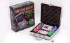 Набор для покера в алюминиевом кейсе IG-4392-100 на 100 фишек без номинала (2кол.карт, 5куб) 6