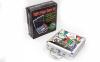 Набор для покера в алюминиевом кейсе IG-4392-100 на 100 фишек без номинала (2кол.карт, 5куб) 7