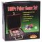 Набор для покера в деревянном кейсе IG-6641 на 100 фишек с номиналом (2 кол.карт,5куб) 4