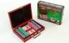 Набор для покера в деревянном кейсе SP-Sport IG-6642 200 фишек 6