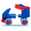 Роликовые коньки раздвижные (квады) Record K01 размер 25-30 красный, синий 1