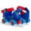 Роликовые коньки раздвижные (квады) Record K01 размер 25-30 красный, синий 2