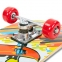Скейтборд в сборе (роликовая доска) HB059 (колесо-PVC, р-р деки 78х20х1,2см, 608Z) 2