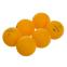 Набор мячей для настольного тенниса 6 штук DONIC МТ-618017 ELITE (целлулоид, d-40мм, оранжевый) 0