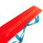 Лыжи детские C-4674 Гном (l-лыж-45 см, без палок, крепл. нерегул., красный-голубой 0