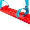 Лыжи детские C-4674 Гном (l-лыж-45 см, без палок, крепл. нерегул., красный-голубой 1