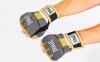 Перчатки-бинты внутренние гелевые из неопрена EVERLAST P00000740 EverGel (р-р M-L, серый-желтый) 2