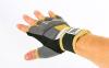 Перчатки-бинты внутренние гелевые из неопрена EVERLAST P00000740 EverGel (р-р M-L, серый-желтый) 4