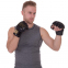 Перчатки для смешанных единоборств MMA кожаные UFC PRO Prem UHK-75059 (р-р L-XL, черный) 3